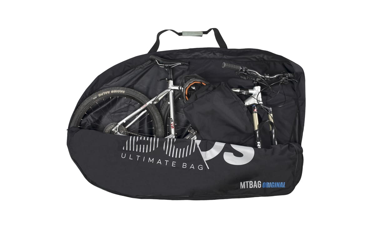 Housse transport vtt ouverte buds sports mtbag original 2 for Housse vtt transport