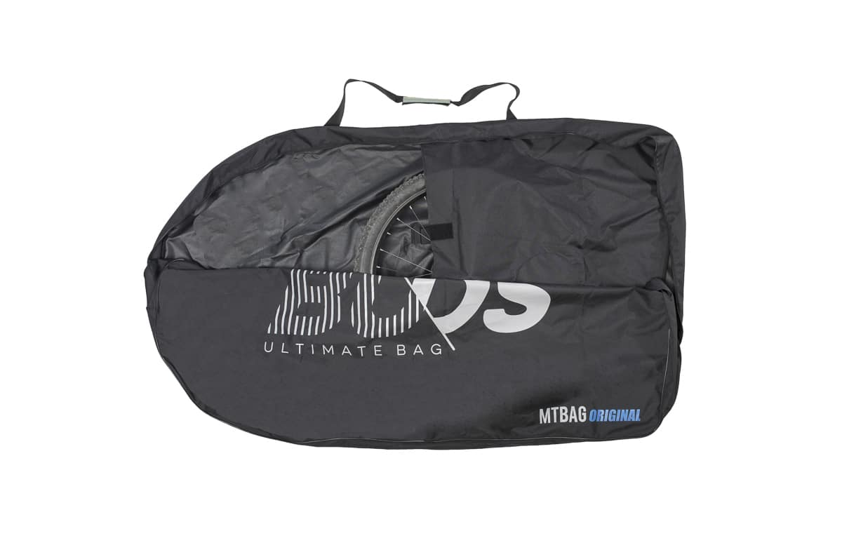 Housse transport vtt ouverte buds sports mtbag original for Housse vtt transport